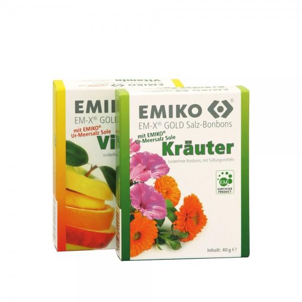 EMIKO® EM-X Gold® Salz-Bonbons