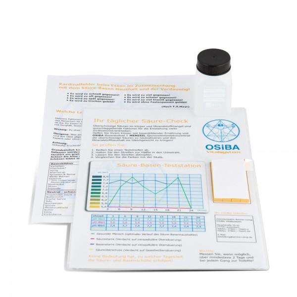 Urin Grundpräventionsanalyse Testset mit pH-Wert Messstation