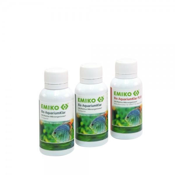 Bio AquariumKlar Systempflege, 3x30 ml