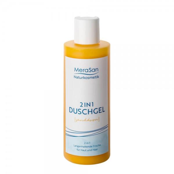 MeraSan Duschgel 2 in 1 Natural (Sanddorn) (200 ml Kunststoff-Flasche)