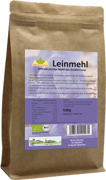 Leinmehl BIO LowCarb