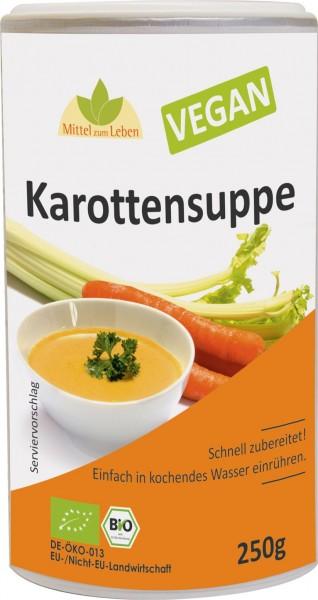 Karottensuppe bio Vegan