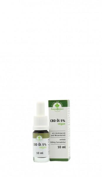 CBD Öl 5% vegan 10ml