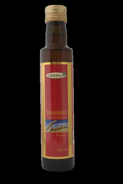 Weizenkeimöl, 1. Pressung 250 ml
