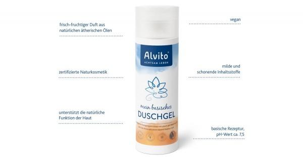 basisches DuschGel Naturkosmetik NaTrue zertifiziert