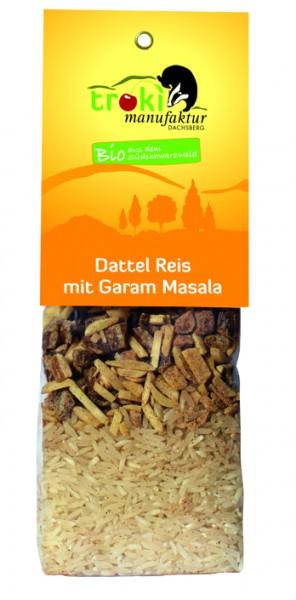 Dattel Reis mit Garam Masala