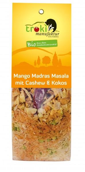 Mango Madras Masala mit Cashew & Kokos