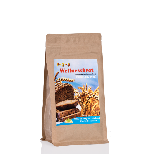 Wellness-Brotbackmischung