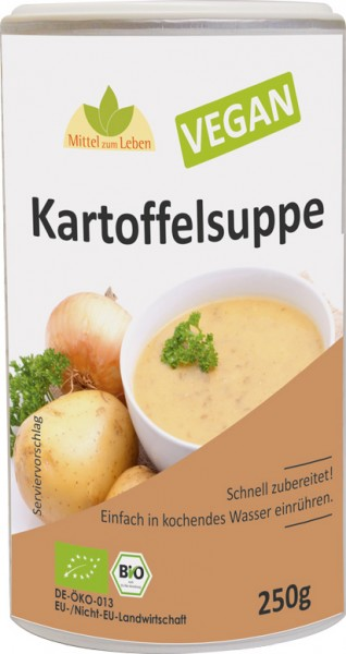 Kartoffelsuppe bio Vegan