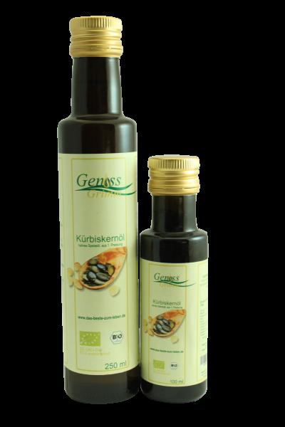 Kürbiskernöl, 1. Pressung Bio