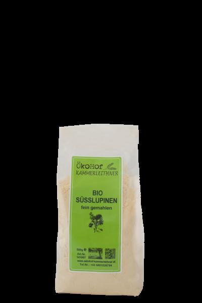 Süßlupinen fein gemahlen bio 500g
