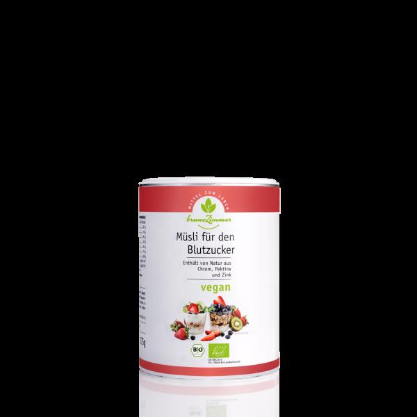 Frühstückscrunch für den Blutzucker BIO